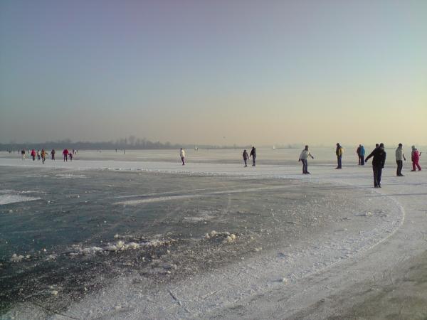Prise dans les glaces